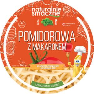 Naturalnie Smaczne Pomidorowa Z Makaronem - Zupa