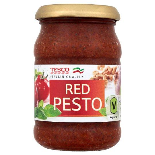 Tesco Italian Quality Pesto czerwone