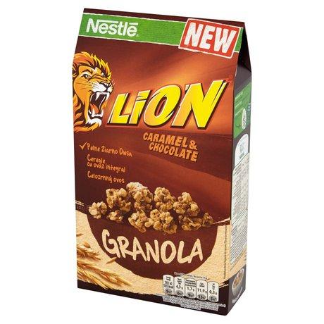 Nestle - Lion Granola płatki śniadaniowe