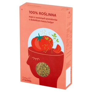 Zielone Pojęcie Zupa Z Suszonych Pomidorów