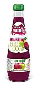 Naturalny Sok 100% - Sok z jabłek i buraków
