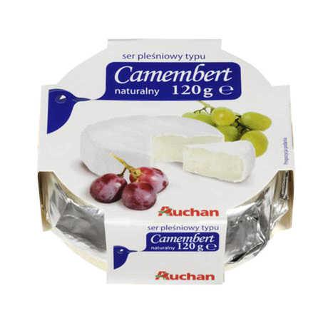 Auchan - Ser pleśniowy Camembert naturalny