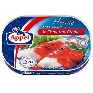 Appel Filety Śledziowe W Kremie Pomidorowym