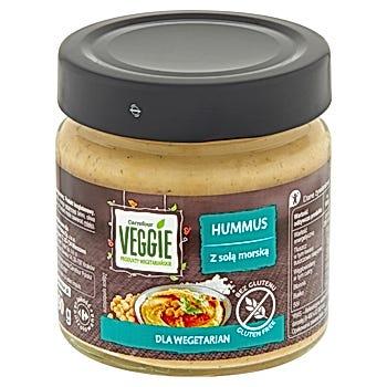 Carrefour Veggie Hummus z solą morską