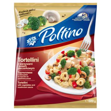 POLTINO Tortellini z warzywami i sosem pieczarkowym mrożone