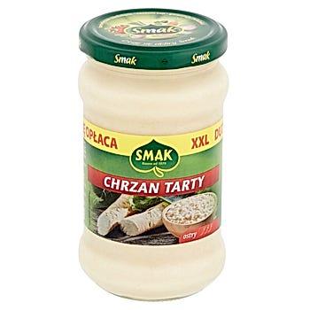 Smak Chrzan tarty ostry