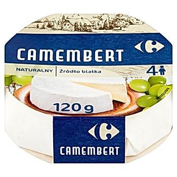 Carrefour Ser Camembert naturalny 120 g