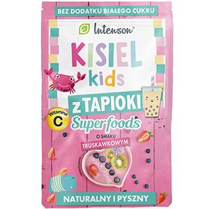 Intenson Kisiel Kids Z Tapioki O Smaku Truskawkowym