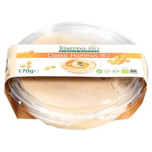 Taverna Hummus Klasyczny Bio Kremowy Dip Z Ciecierzycy