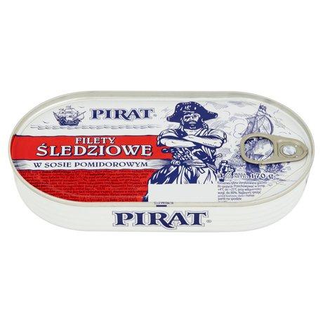 Pirat - Filety śledziowe w pomidorach