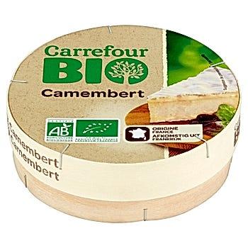 Carrefour Bio Camembert Ser pleśniowy 250 g