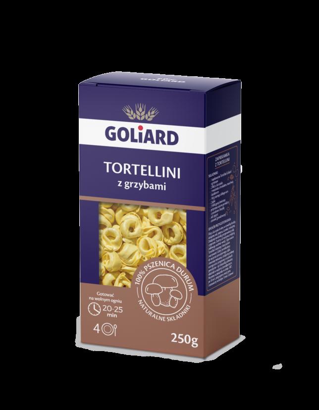 Goliard, Tortellini z grzybami
