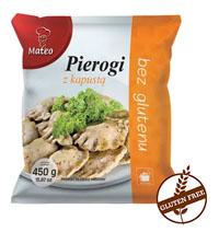 MATEO Pierogi z kapustą bez glutenu