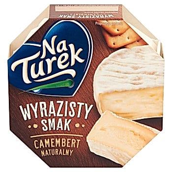 NaTurek Camembert naturalny wyrazisty smak 120 g