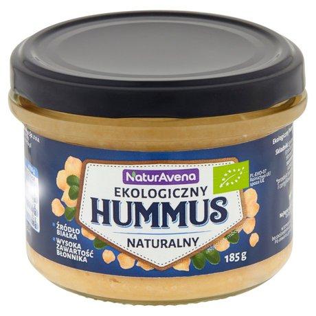 NaturAvena - Ekologiczny hummus naturalny