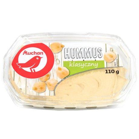 Auchan - Hummus klasyczny pasta z ciecierzycy i sezamu