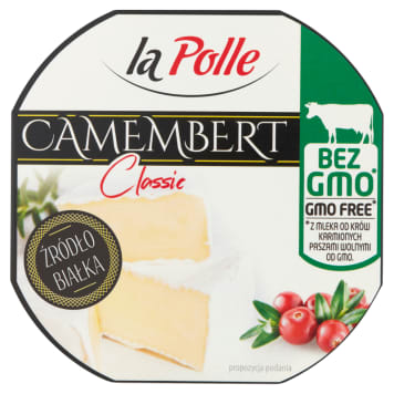 MLEKOVITA La Polle Camembert Classic Ser pleśniowy