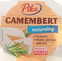 Pilos, camembert naturalny (Lidl)