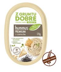 Z GRUNTU DOBRE Hummus Premium z czarnuszką