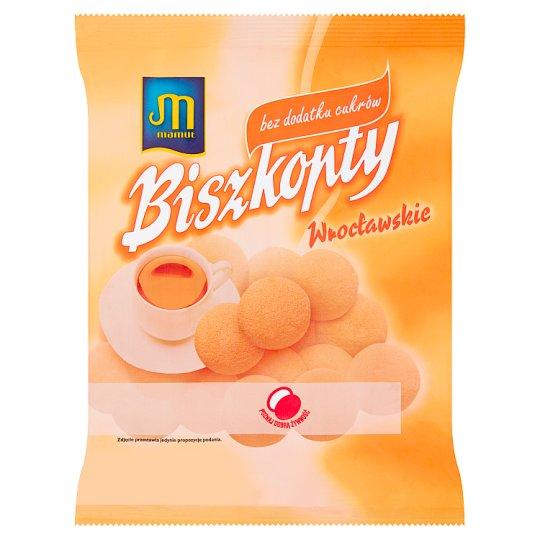 Mamut Biszkopty wrocławskie bez dodatku cukrów