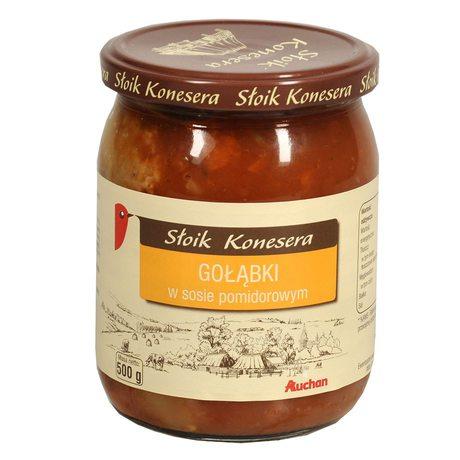 Auchan - Gołąbki w sosie pomidorowym