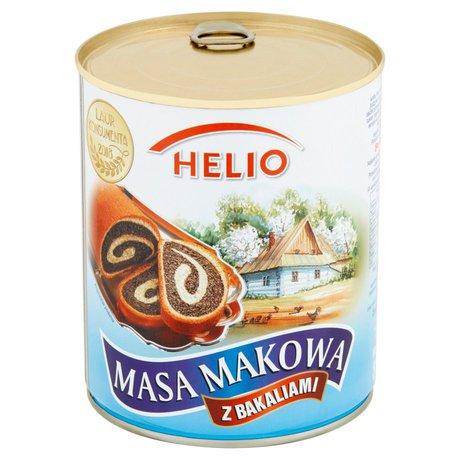 Helio - Masa makowa z bakaliami