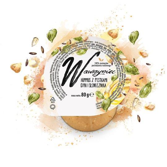 Wawrzyniec Hummus z pestkami dyni i słonecznika