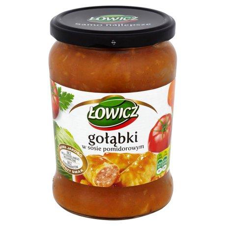 Łowicz - Gołąbki w sosie pomidorowym