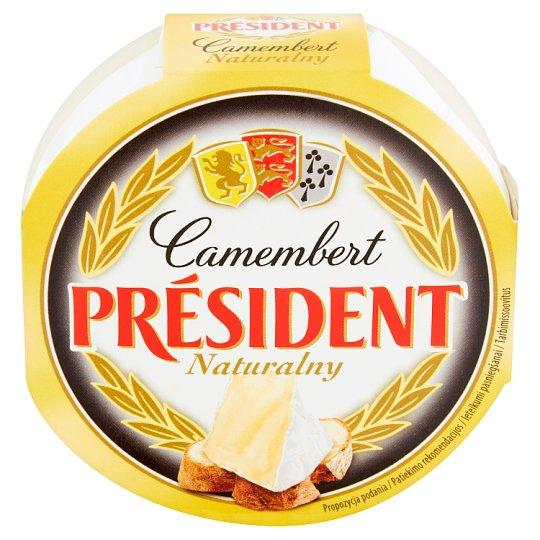 Président Camembert naturalny Ser pełnotłusty