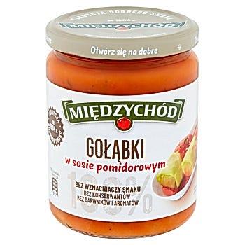 Międzychód Gołąbki w sosie pomidorowym