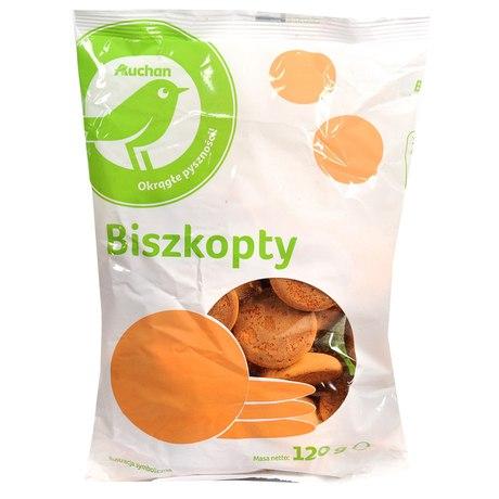Auchan - Biszkopty