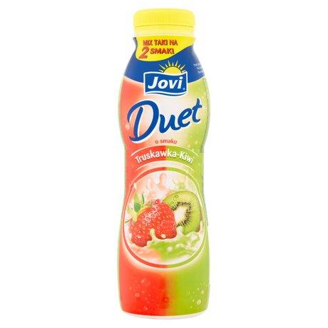 Jovi - Jogurt pitny Duet o smaku truskawka - kiwi