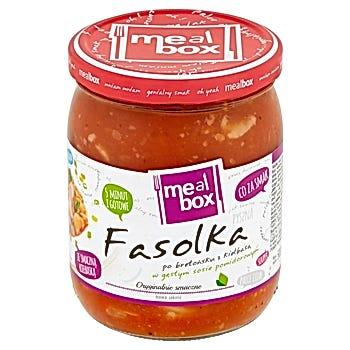Meal Box Fasolka po bretońsku z kiełbasą w gęstym sosie pomidorowym