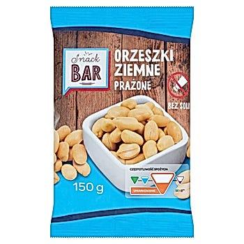 Snack Bar Orzeszki ziemne prażone bez soli