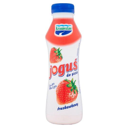 Krasnystaw Joguś Jogurt do picia truskawkowy