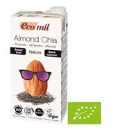 ECOMIL Napój migdałowy niesłodzony z chia BIO