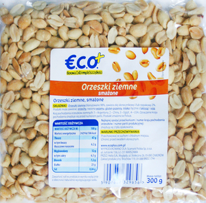 Eco+ Orzeszki Ziemne Smażone