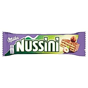 Milka Nussini Wafelek z orzechowo-kakaowym nadzieniem