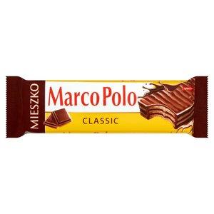 Mieszko Marco Polo Classic Wafelek Przekładany Kremem Kakaowym W Czekoladzie