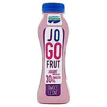 Krasnystaw Jogofrut Jogurt owoce leśne