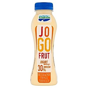 Krasnystaw Jogofrut Jogurt brzoskwinia mango marakuja