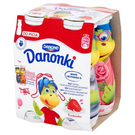 Danone - Danonki do picia truskawkowe