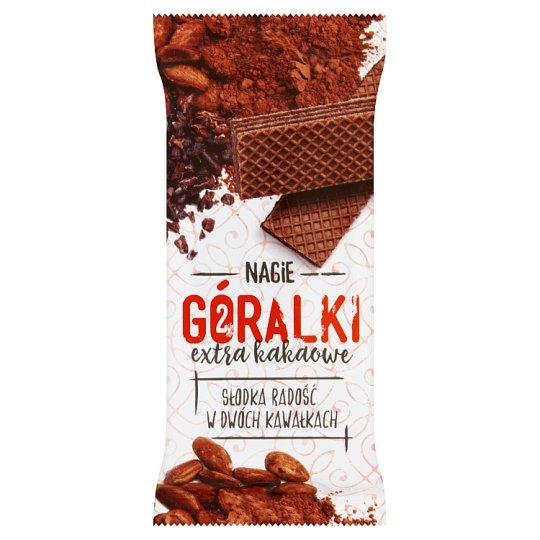 Góralki extra kakaowe Ciemny wafelek z kremowym nadzieniem kakaowym