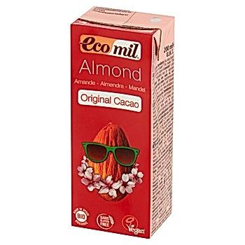 EcoMil Napój migdałowy z kakao