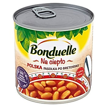 Bonduelle Na ciepło Polska fasolka po bretońsku
