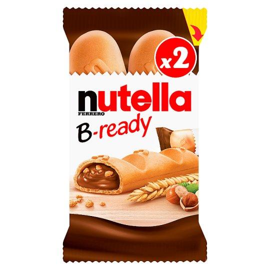 Nutella B-ready Wafelek z orzechami laskowymi i kakao oraz chrupkami