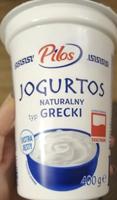 Pilos, Jogurt typu greckiego (Lidl)
