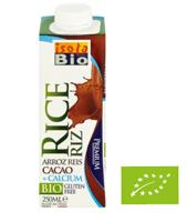 ISOLA BIO Napój ryżowy z kakao wzbogacony w wapń