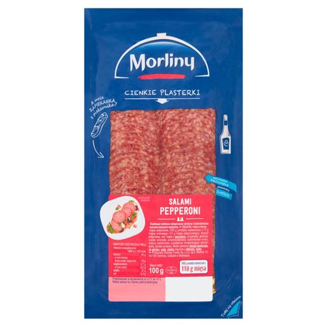Morliny - Salami Pepperoni plastry