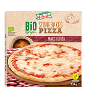 Pizza Margherita BIO (Lidl)